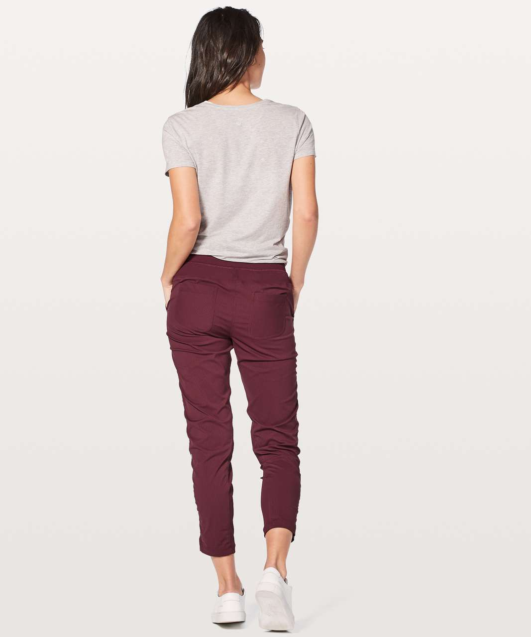 "Lululemon Street To Studio Pant II *Unlined 28"" - Redwood"