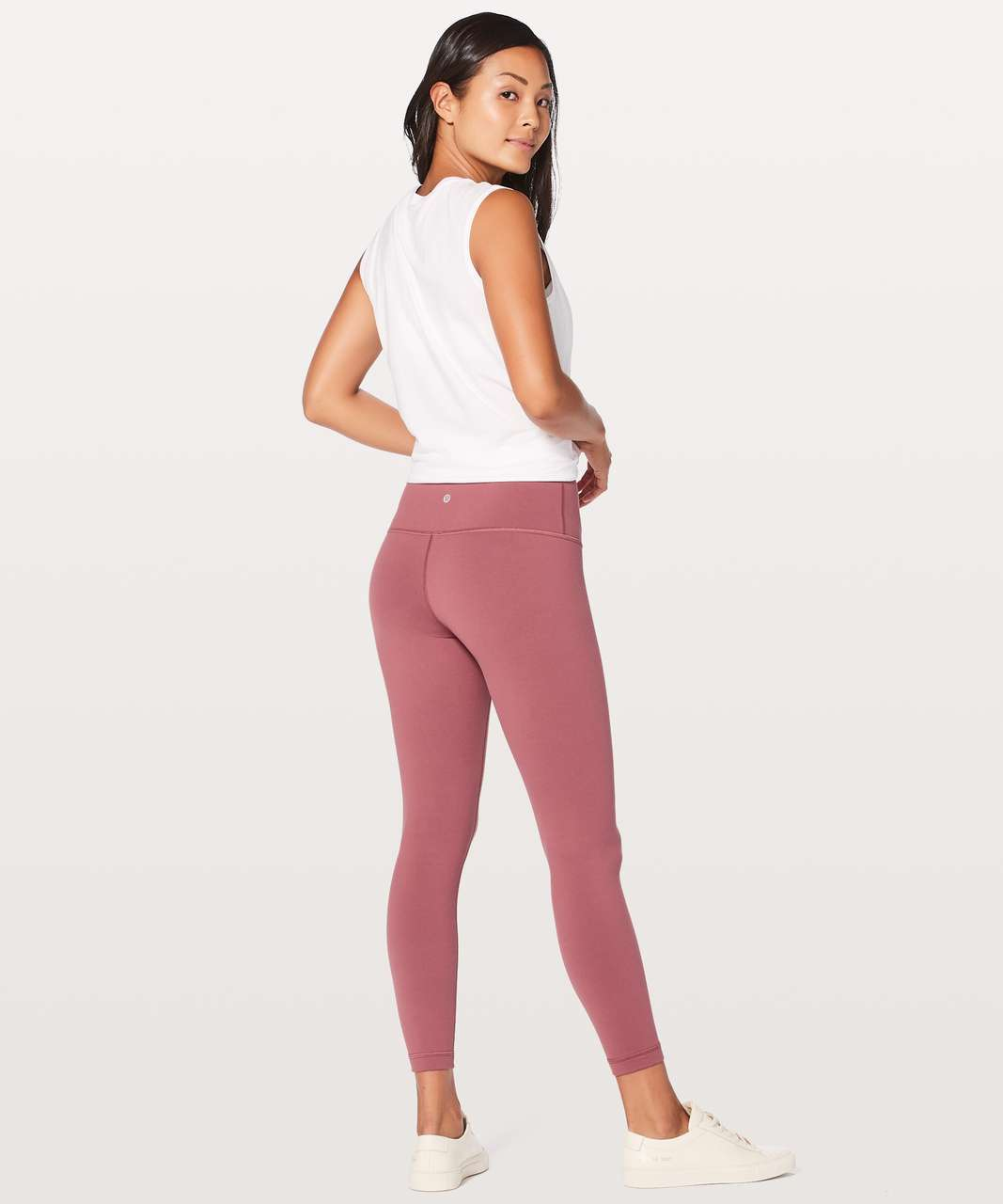 "Lululemon Wunder Under Hi-Rise 7/8 Tight *Full-On Luon 25"" - So Merlot"