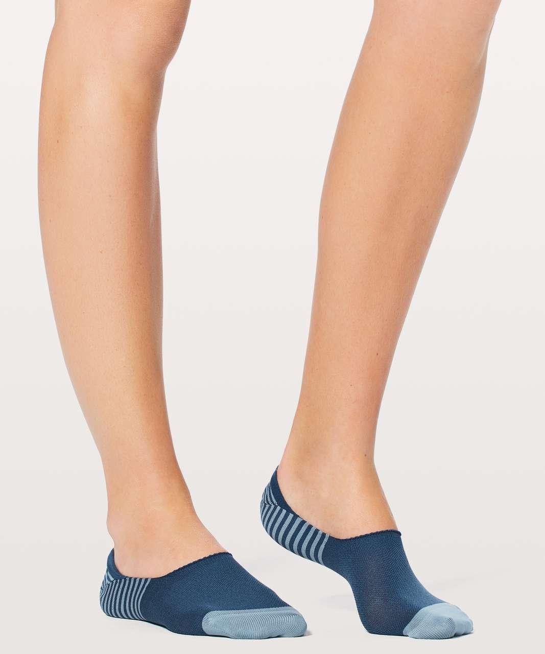 Lululemon Secret Sock - Magnetic Blue / Seascape / Persian Blue
