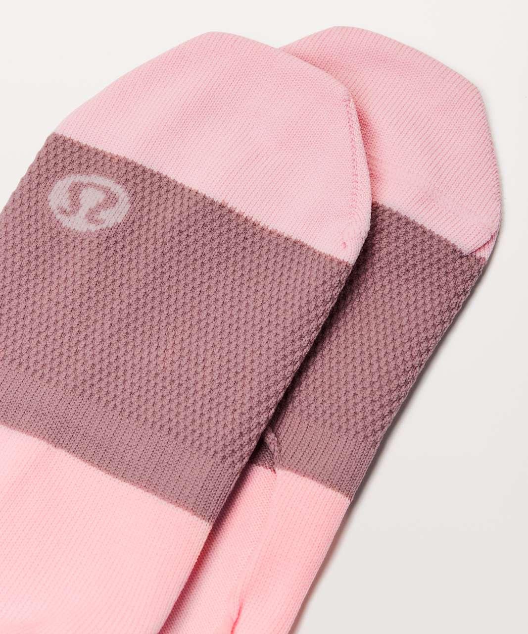 Lululemon Secret Sock - Quicksand / Dusty Pink / Cupcake Pink