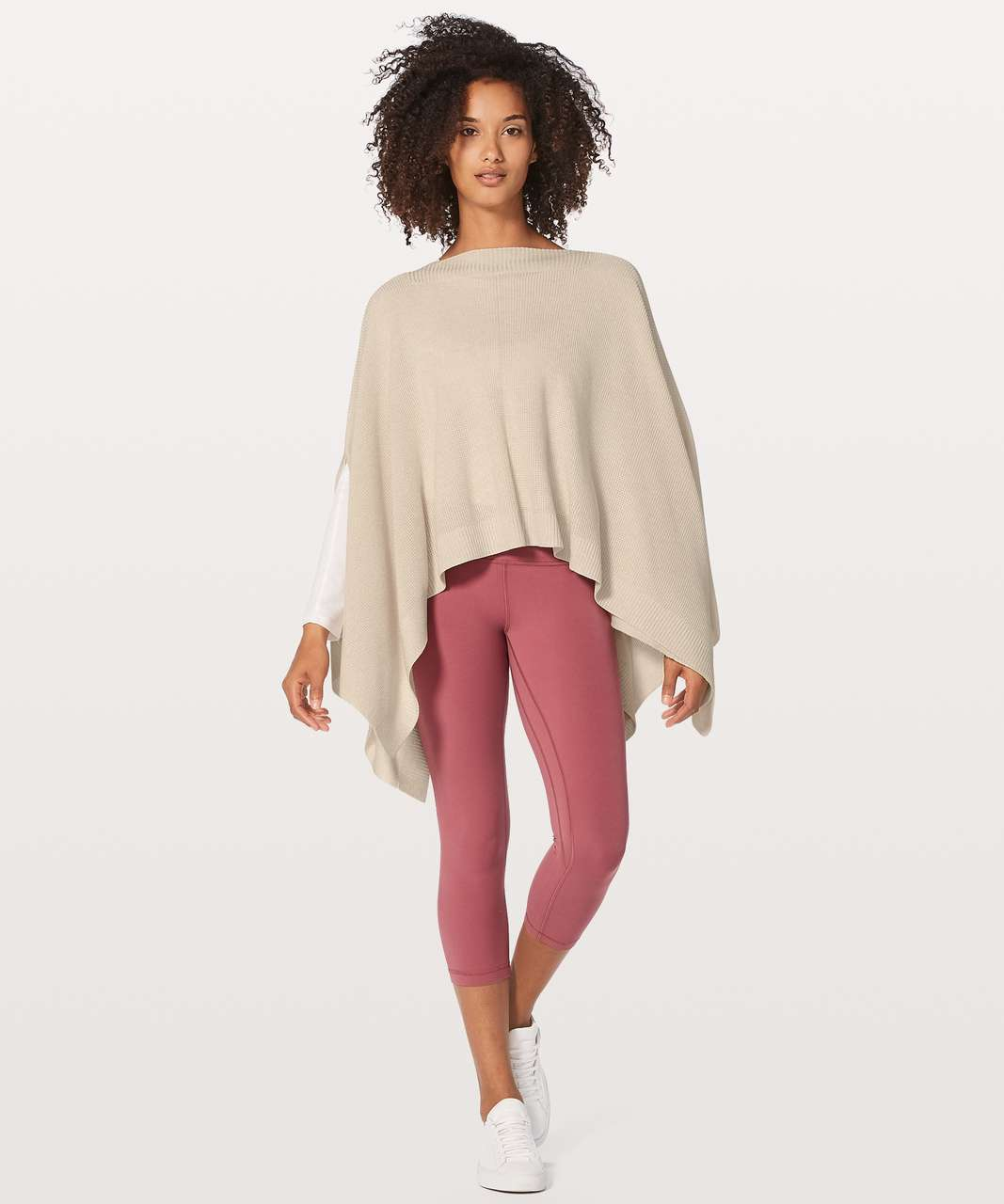 Lululemon Forward Flow Cape - Heathered Angel Wing