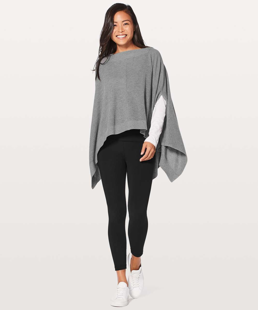 Lululemon Forward Flow Cape - Heathered Core Medium Grey