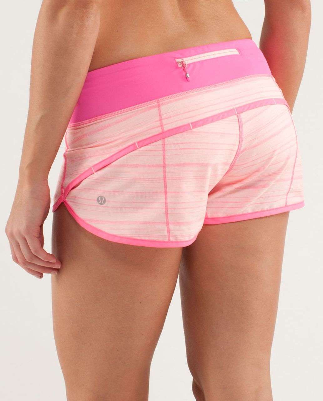 Lululemon Run:  Speed Short - Parfait Pink / Pinkelicious