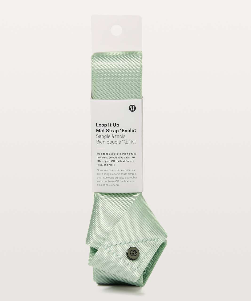 Lululemon Loop It Up Mat Strap *Eyelet - Sea Breeze
