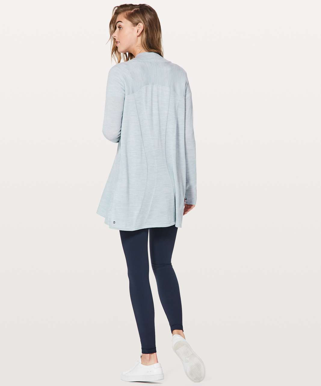Lululemon Blissful Zen Sweater - Heathered Starlight
