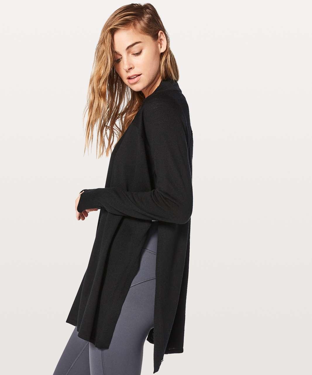 Lululemon Blissful Zen Sweater - Black