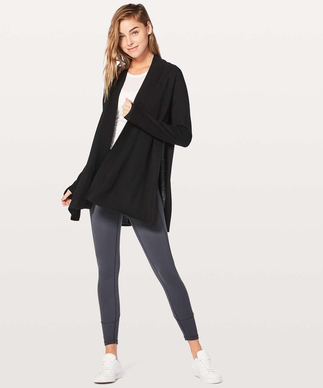 Lululemon Blissful Zen Sweater - Black