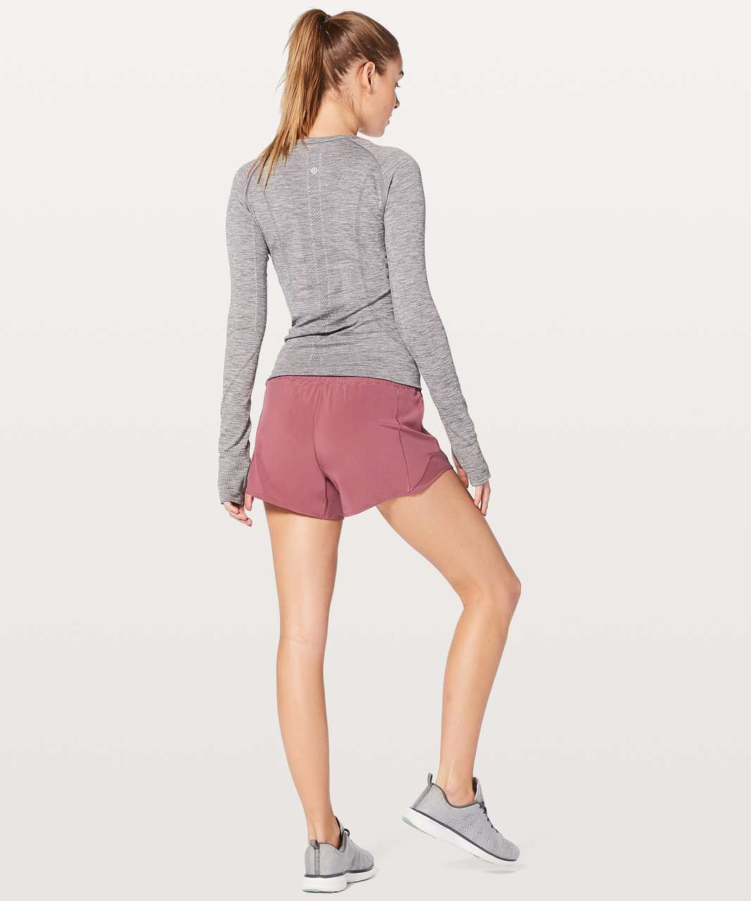 "Lululemon Hotty Hot Short II Long 4"" - So Merlot"