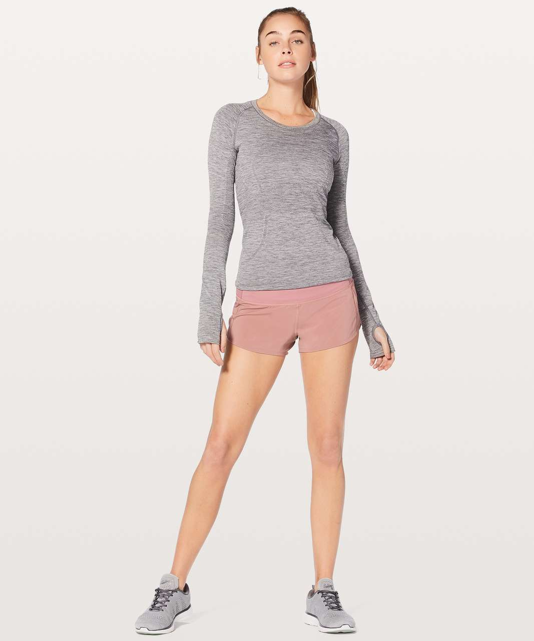 "Lululemon Speed Up Short 2.5"" - Quicksand"