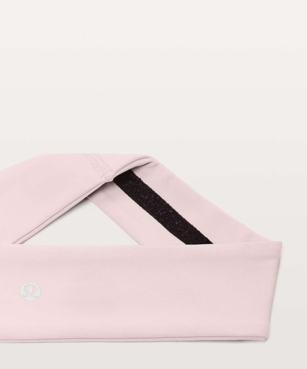 Lululemon Fly Away Tamer Headband II *Luxtreme - Porcelain Pink
