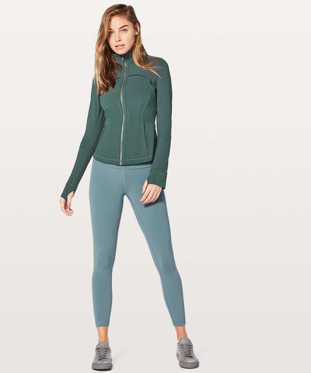 Lululemon Define Jacket Special Edition - Teal Shadow