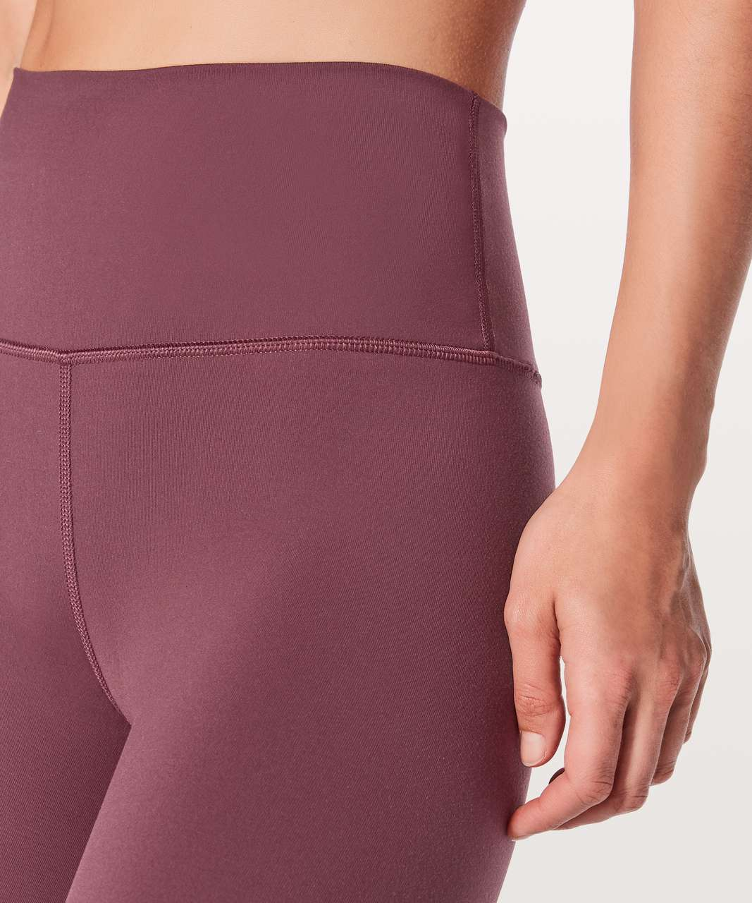 "Lululemon Wunder Under Crop (Hi-Rise) 21"" - Redwood"