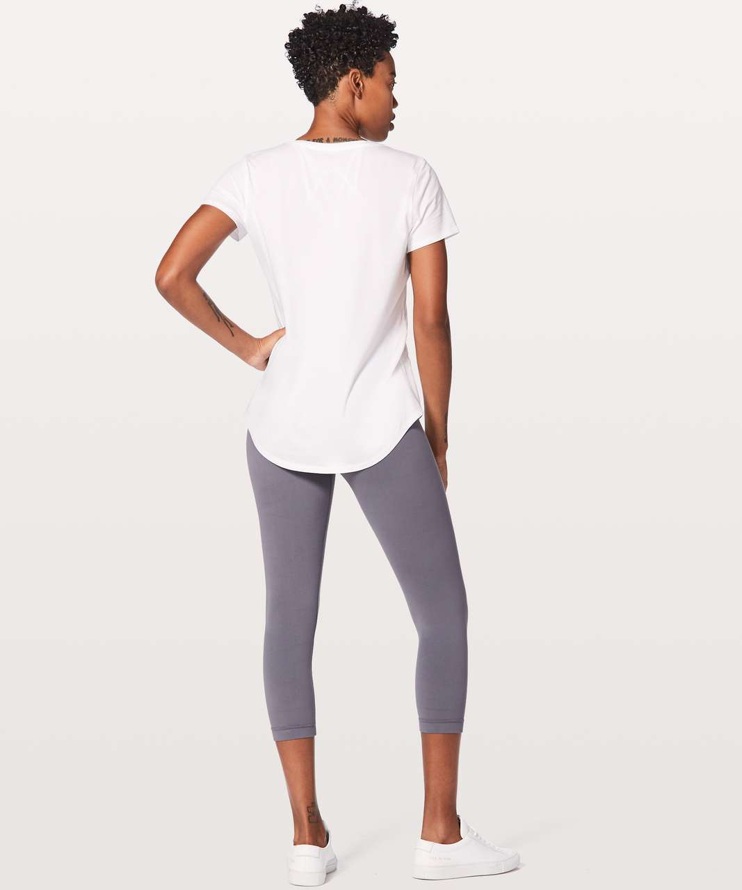 Lululemon Love Tee V - White (Second Release)