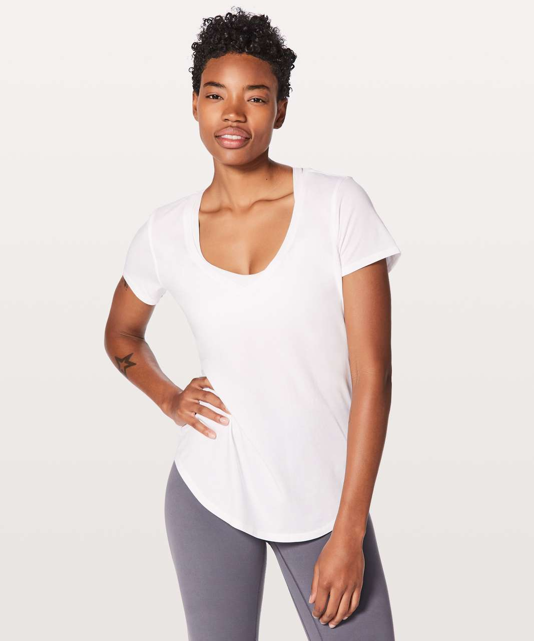 Lululemon Love Tee V - White