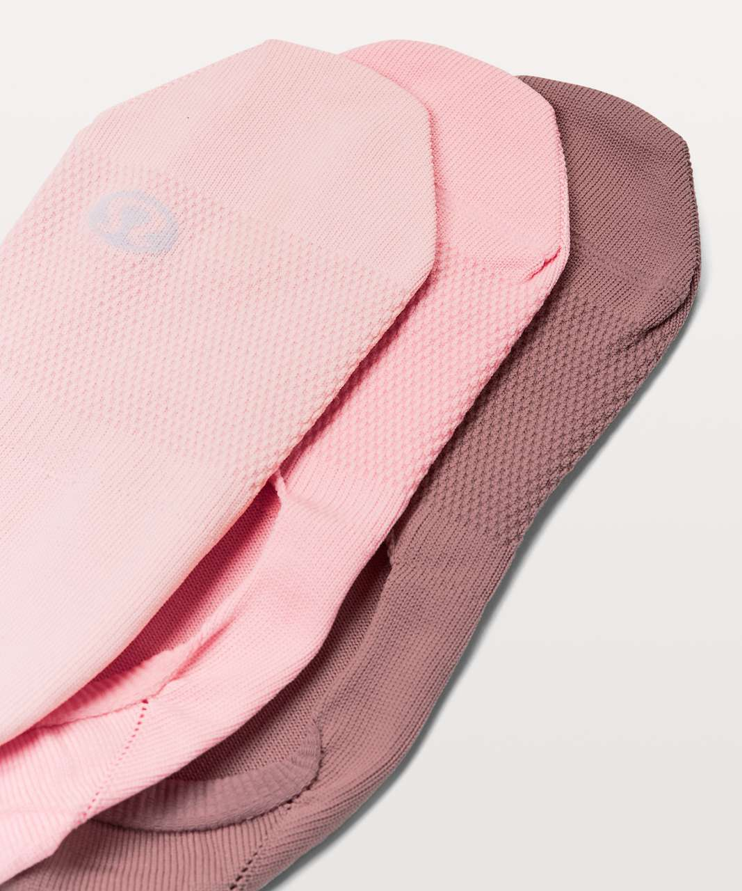 Lululemon Secret Sock *3-Pack - Quicksand / Cupcake Pink / Dusty Pink