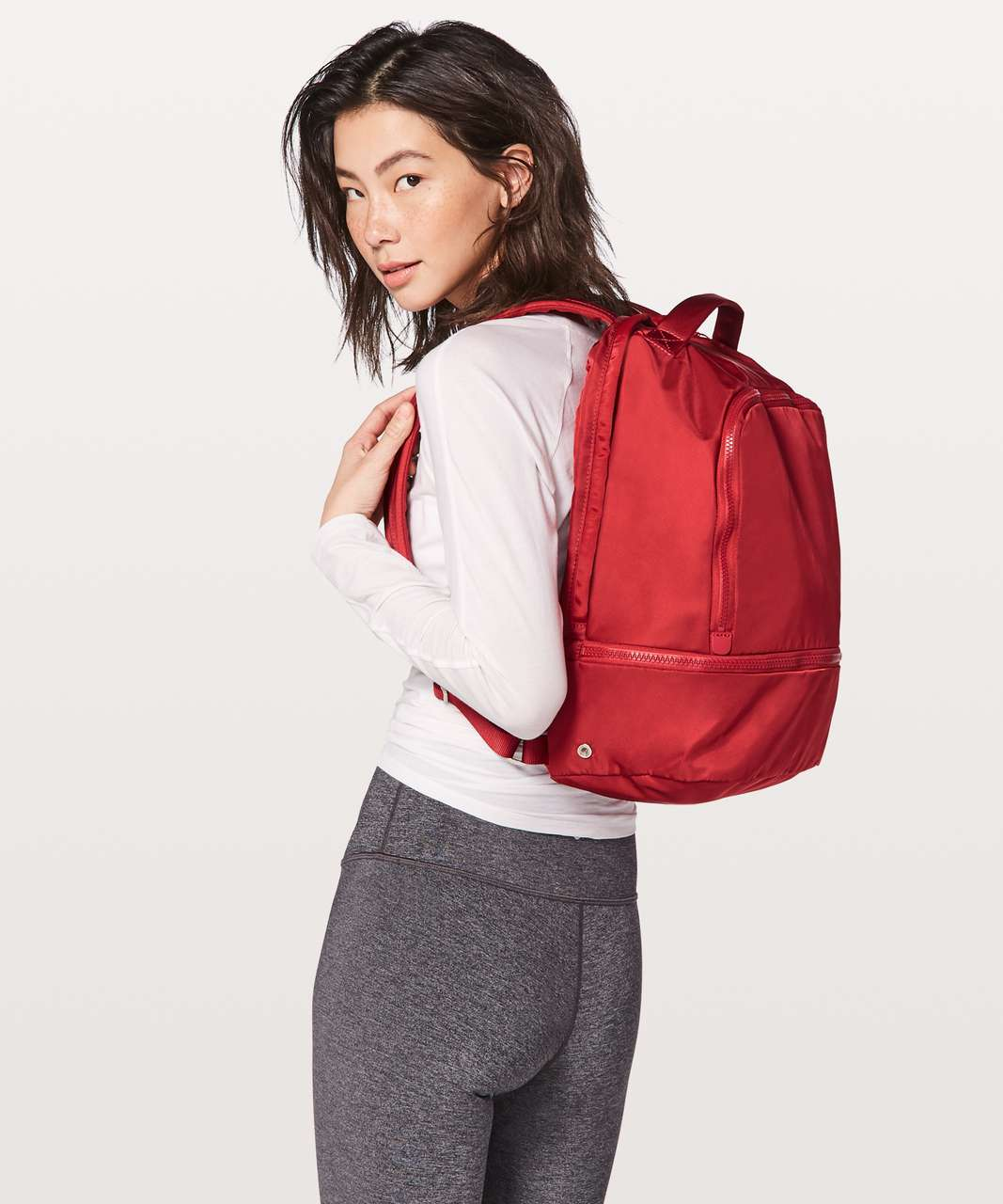 Lululemon City Adventurer Backpack *17L - Persian Red