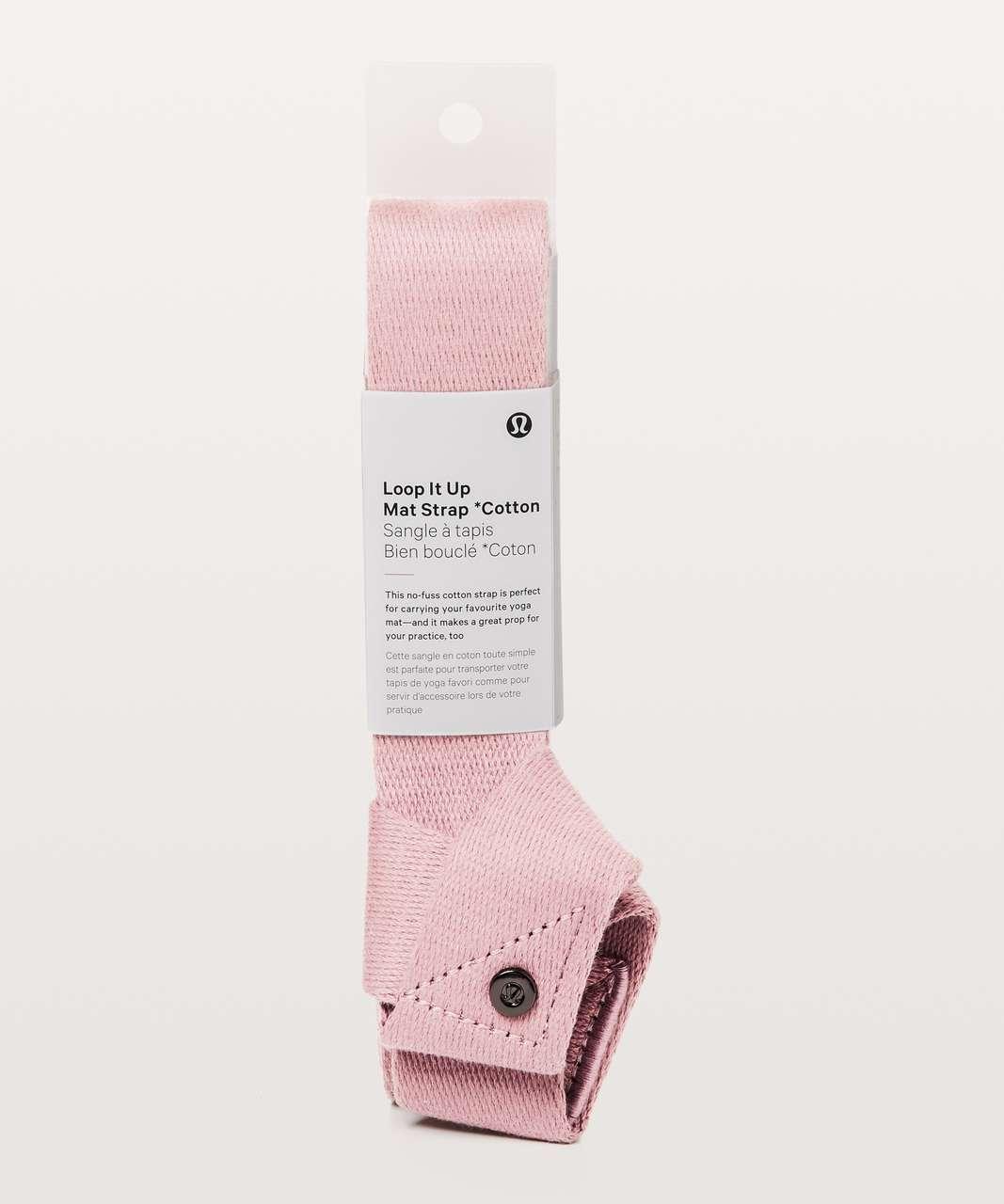 Lululemon Loop It Up Mat Strap Cotton - Light Quicksand