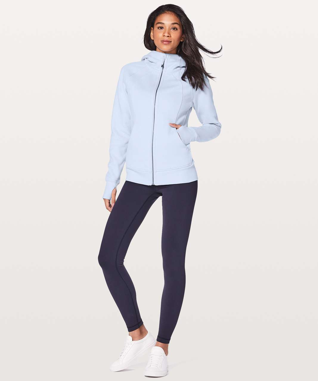 Lululemon Scuba Hoodie *Light Cotton Fleece - Serene Blue