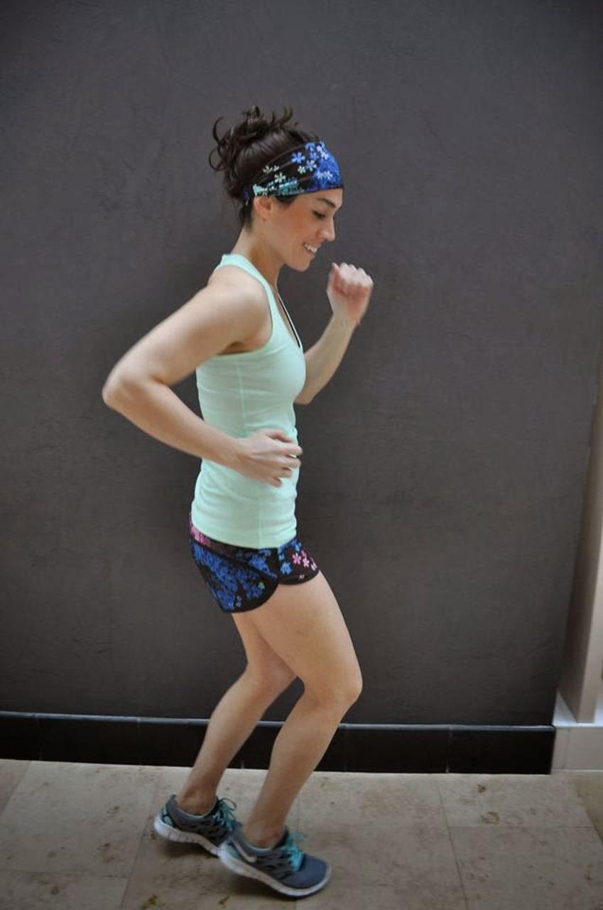 Lululemon Run:  Speed Short *4-way Stretch - Petal Pop Multi / Black