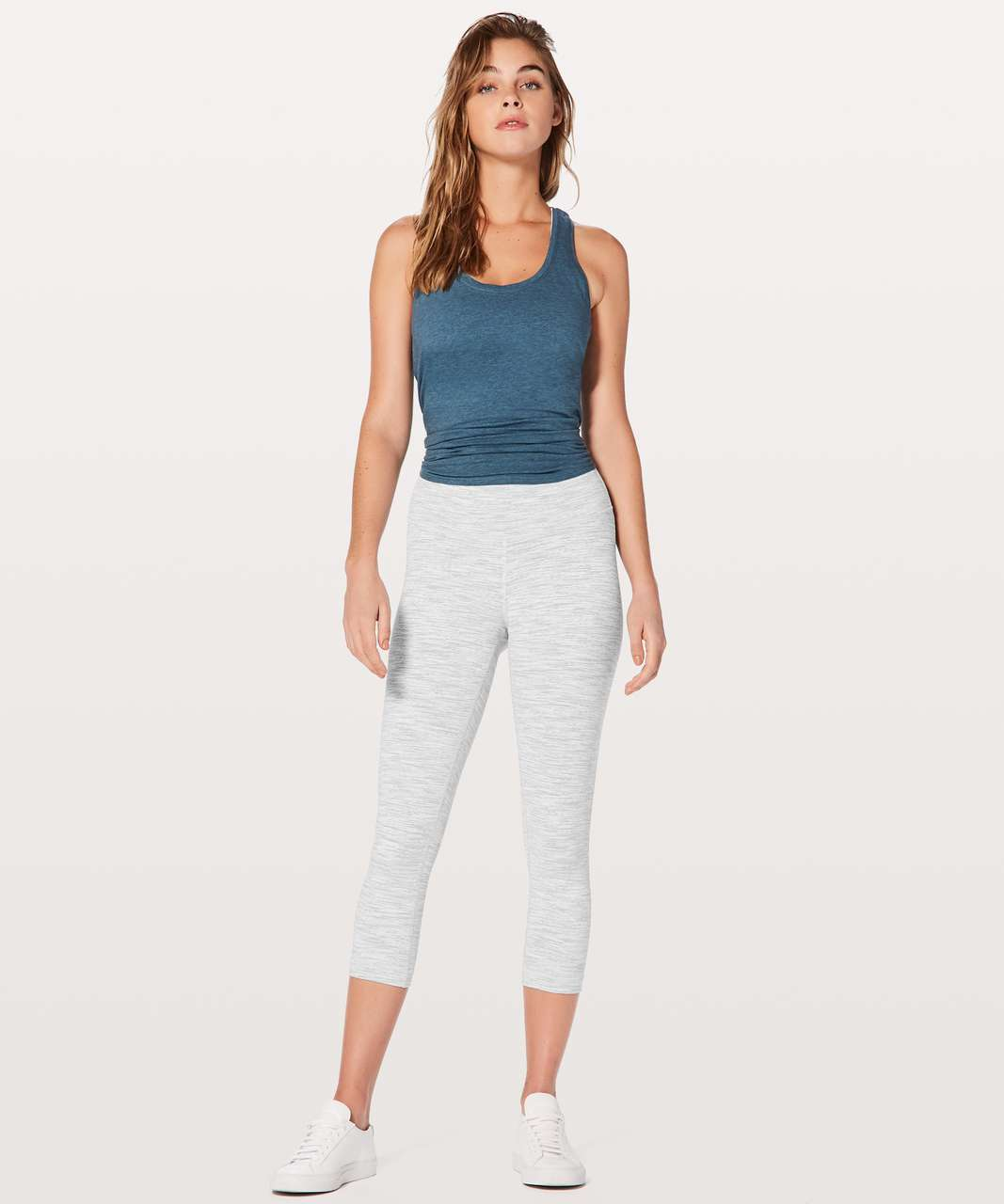 "Lululemon Wunder Under Crop (Hi-Rise) *21"" - Wee Are From Space Nimbus Battleship"