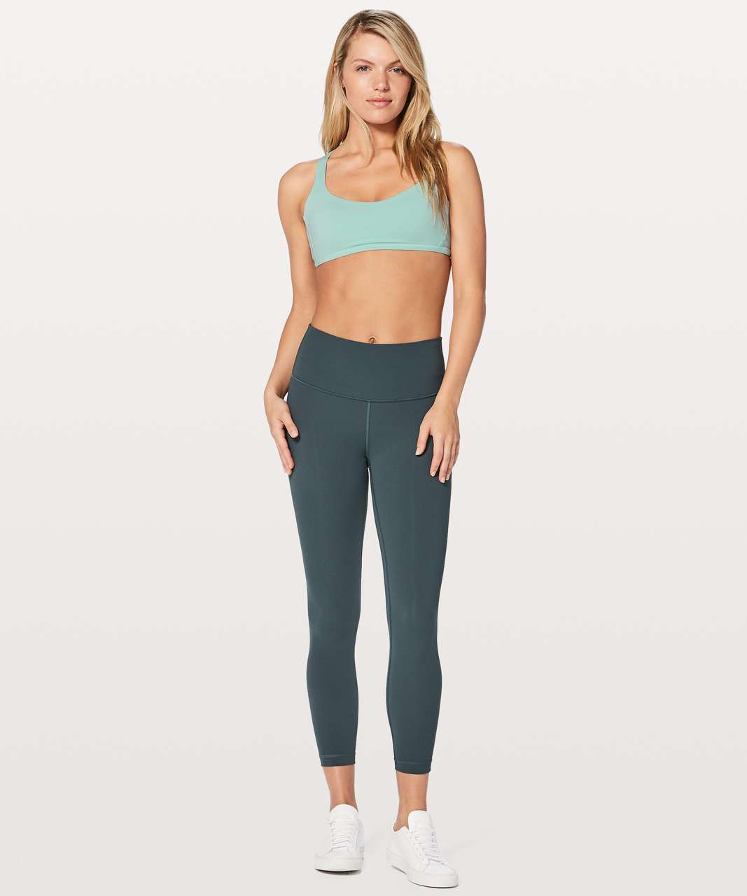 89bf4a77d6 Lululemon Free To Be Zen Bra - Tonic Sea - lulu fanatics