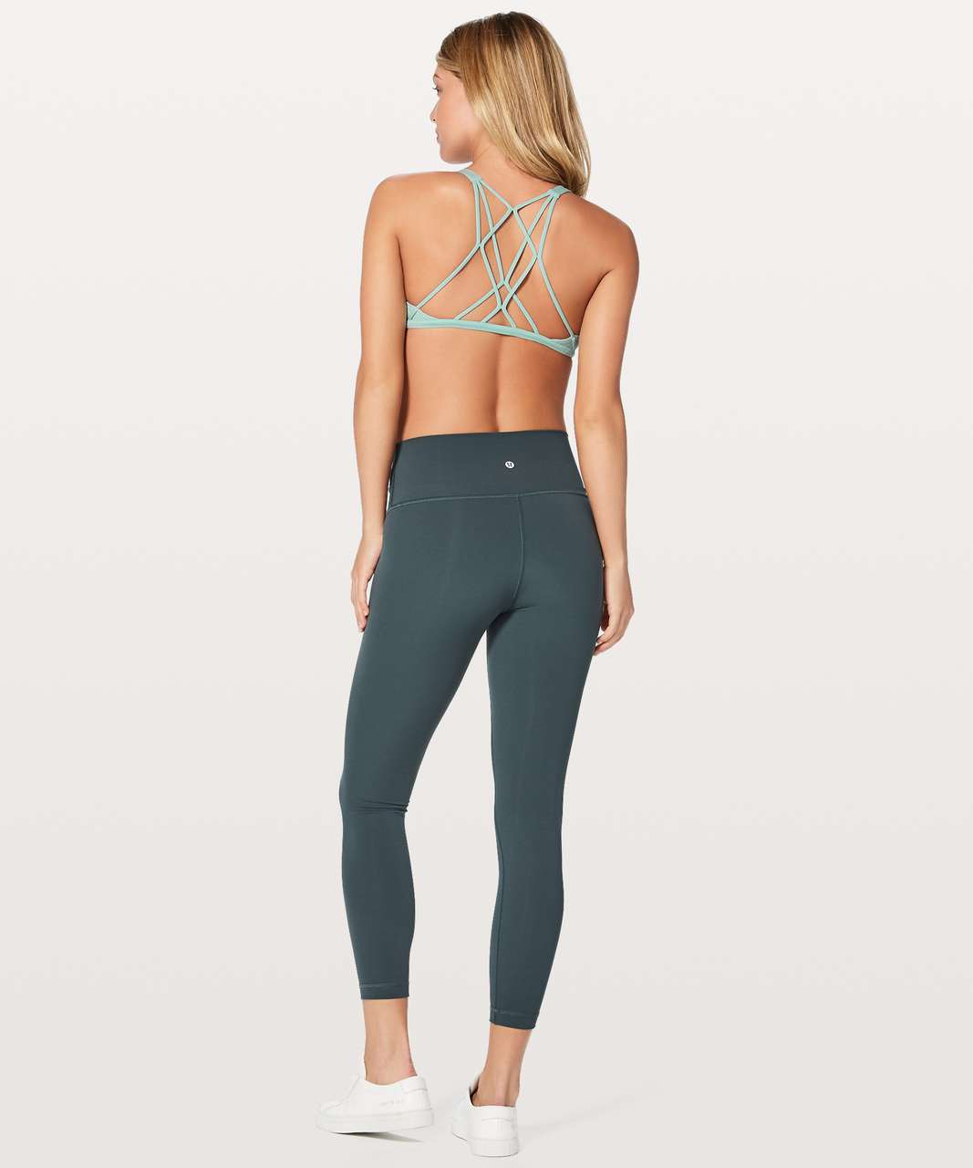 Lululemon Free To Be Zen Bra - Tonic Sea