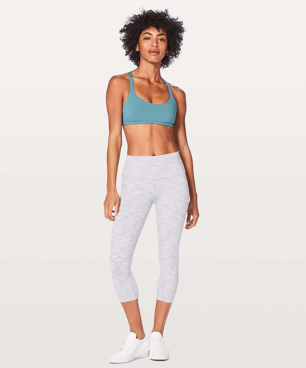 Lululemon Free To Be Zen Bra - Persian Blue