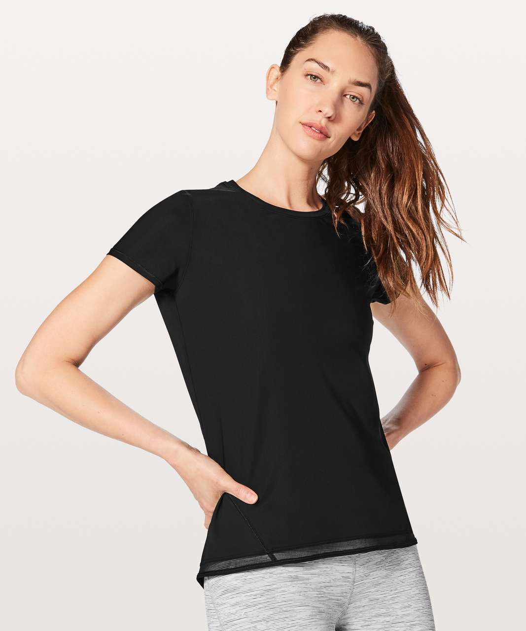 Lululemon Into the Sun Tee - Black
