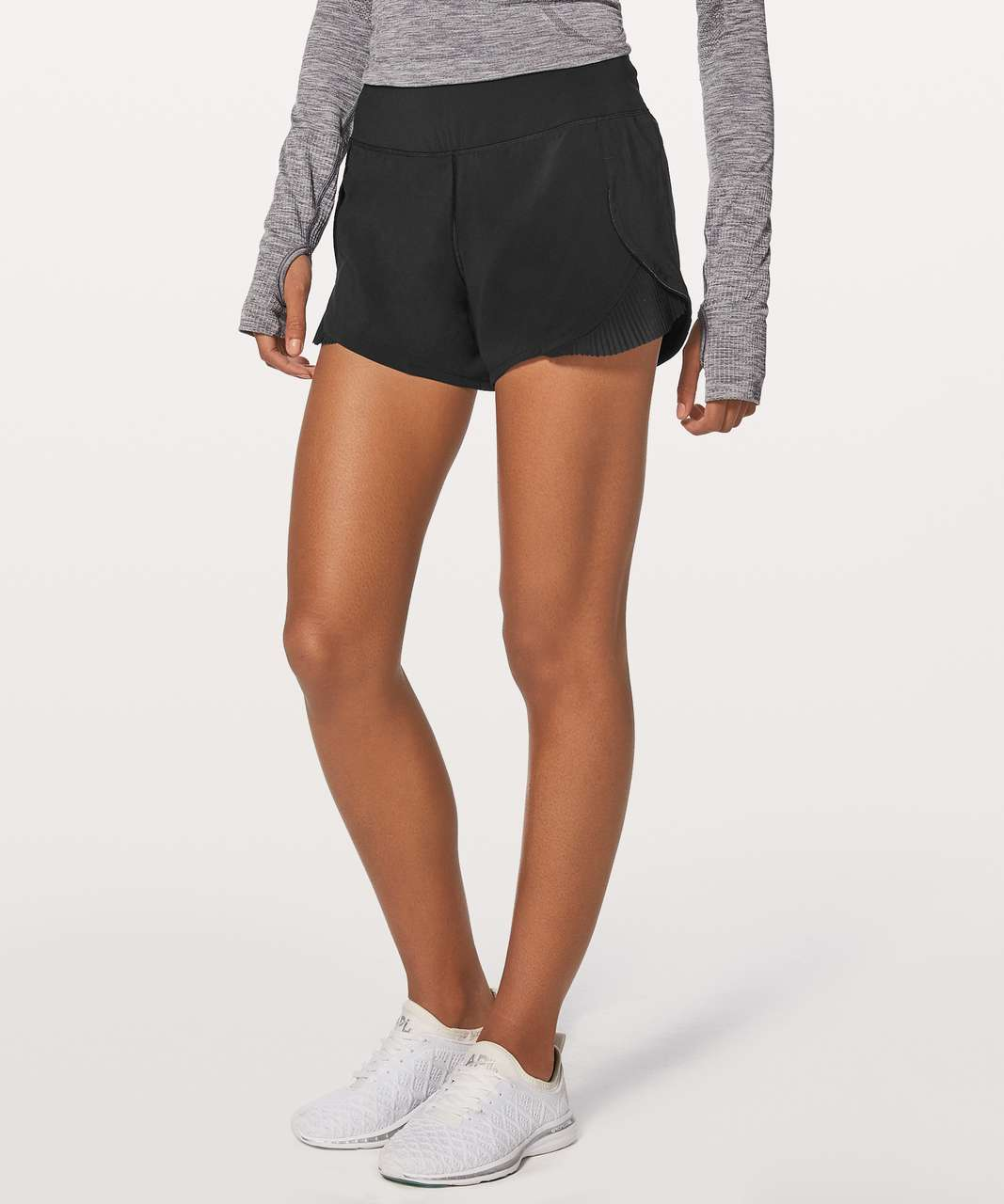 "Lululemon Play Off The Pleats Short 3"" - Black"