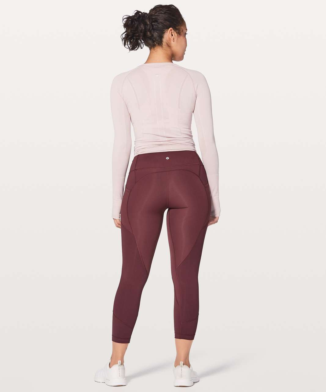 "Lululemon All The Right Places Crop II *23"" - Redwood"