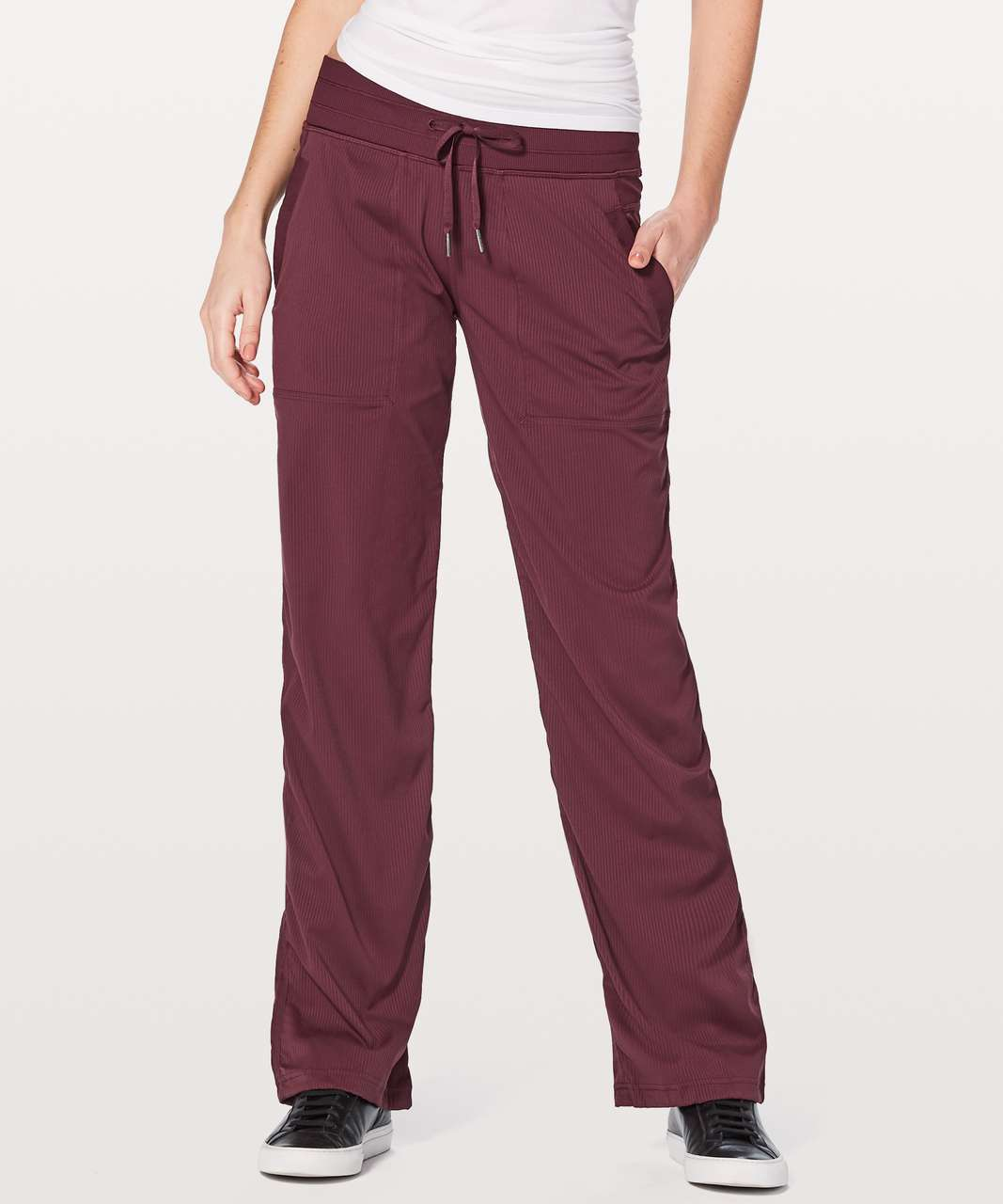 "Lululemon Dance Studio Pant III (Regular) *Unlined 32"" - Redwood"