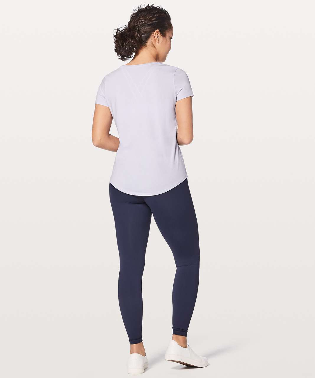 Lululemon Love Tee V - Serene Blue