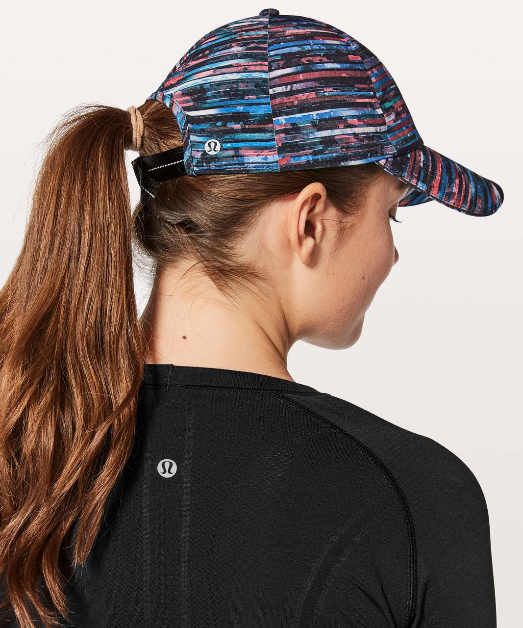 Lululemon Baller Hat Run - Hinshu Alpine White Multi