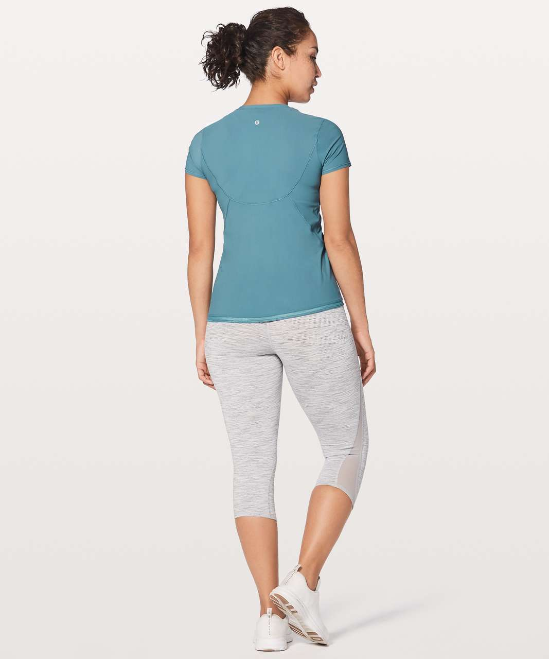 Lululemon Into the Sun Tee - Persian Blue