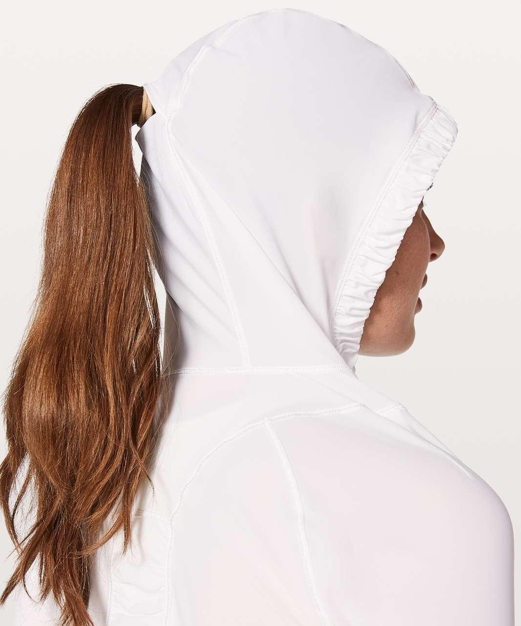 Lululemon Water Bound Hoodie - White