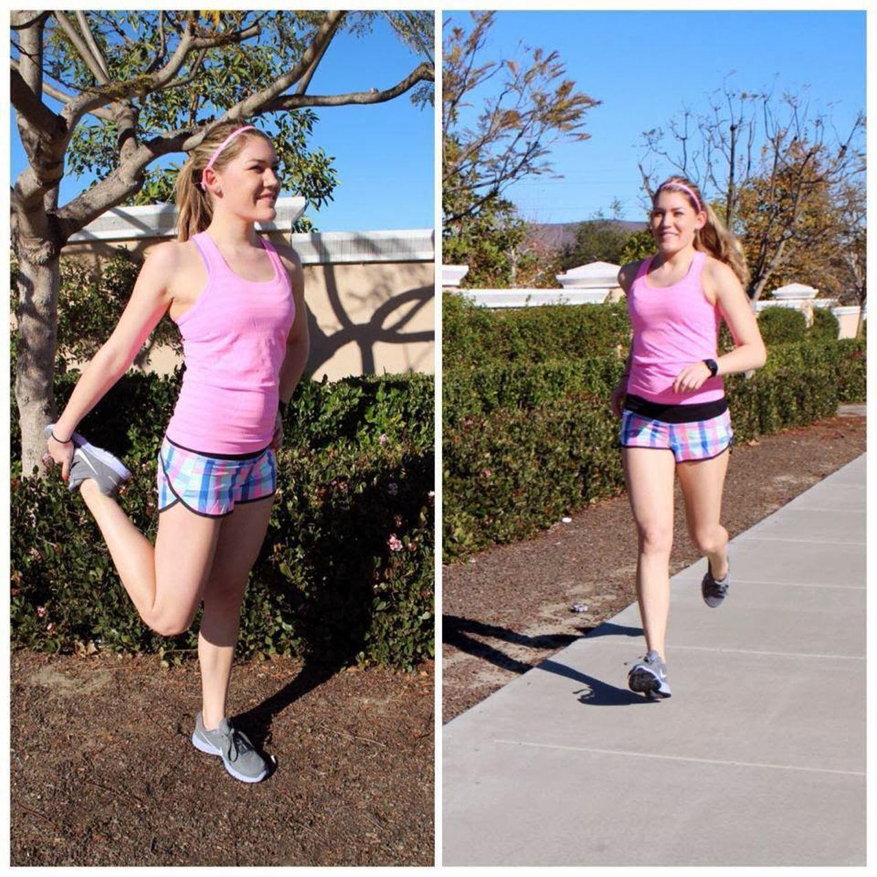 Lululemon Run:  Speed Short *2-way Stretch - Pop Plaid Reflective Multi / Black