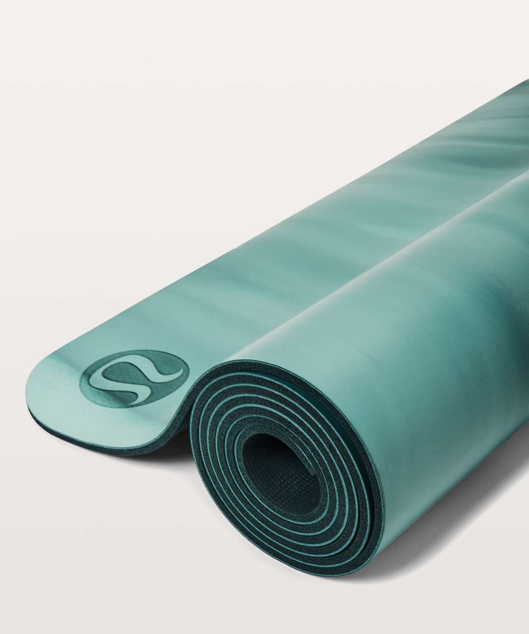 Lululemon The Reversible Mat 5mm - Sea Green / Tonic Sea / Teal Shadow