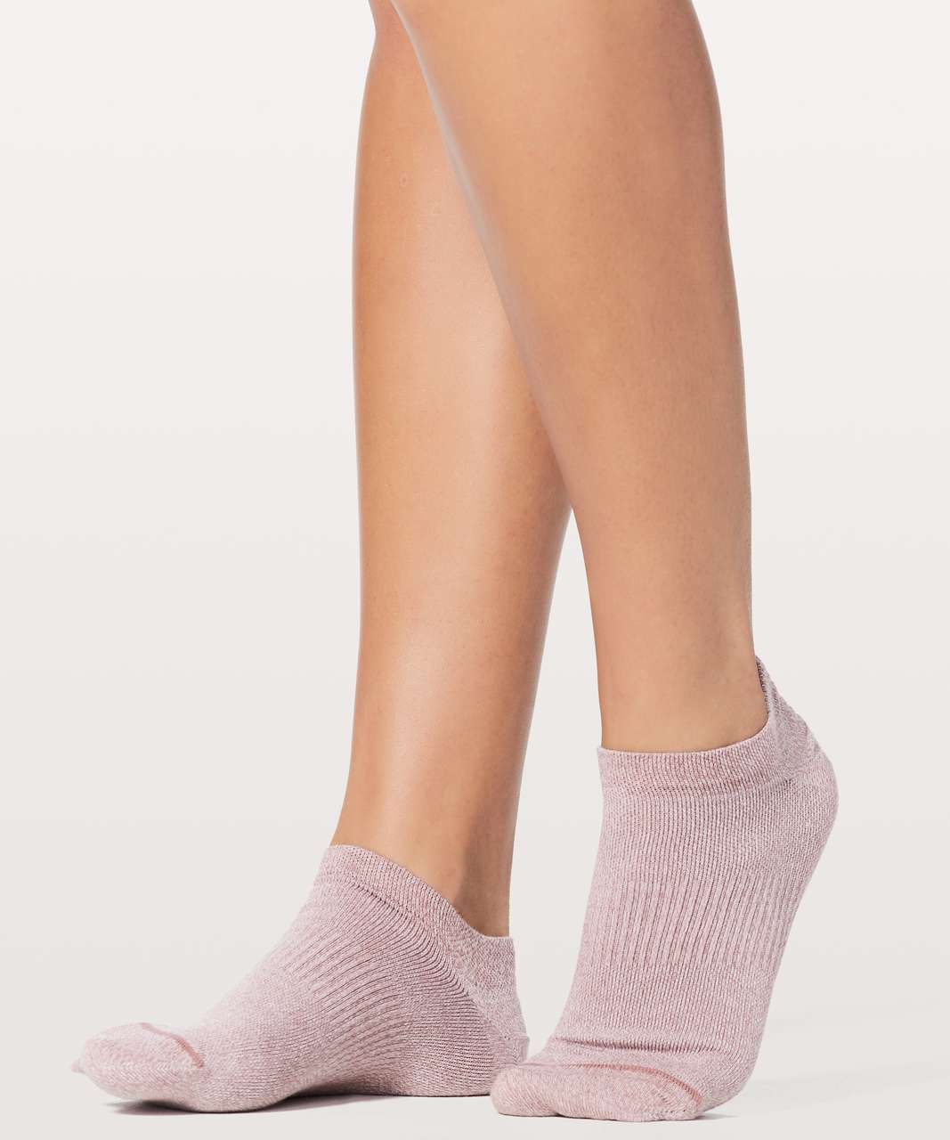 Lululemon All In A Day Sock - Quicksand / White / Cupcake Pink