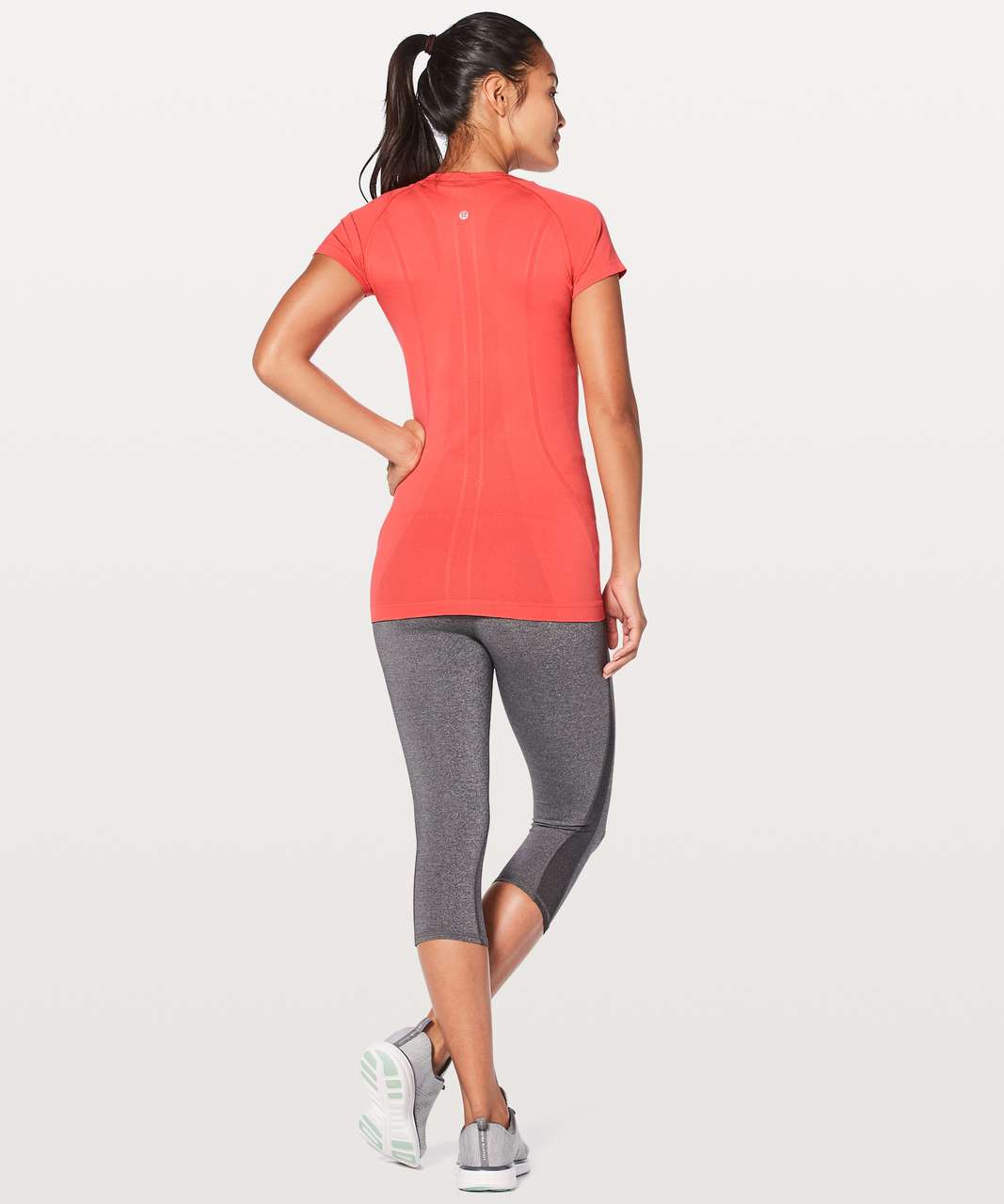 Lululemon Swiftly Tech Short Sleeve Crew - Vermillion