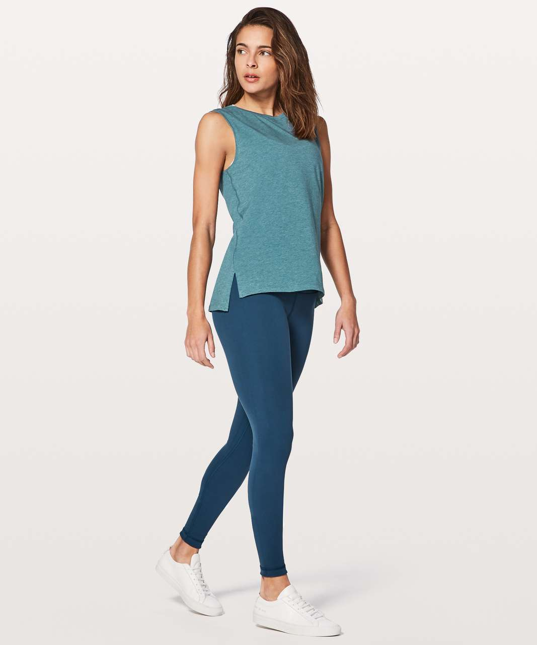Lululemon Love Sleeveless Tank - Heathered Shipmate