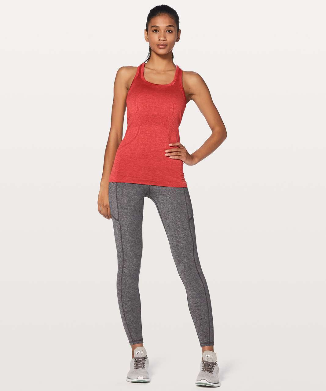 Lululemon Swiftly Tech Racerback - Persian Red / Vermillion