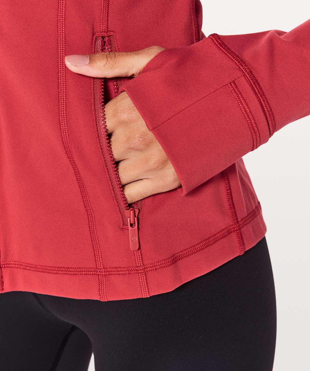 Lululemon Define Jacket - Persian Red