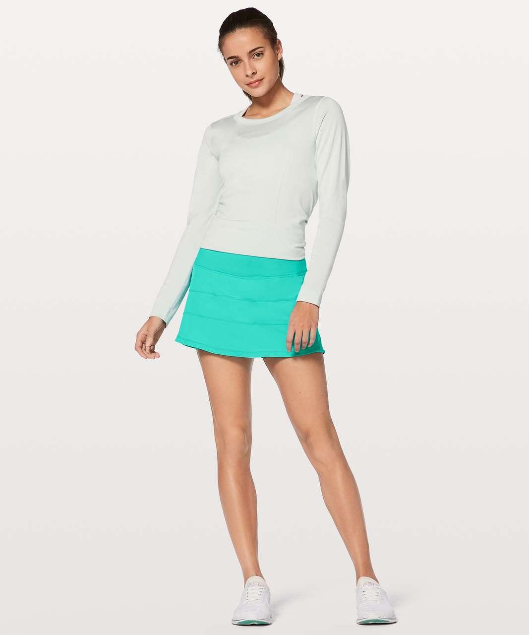 "Lululemon Pace Rival Skirt (Regular) 4-way Stretch 13"" - Eucalyptus"
