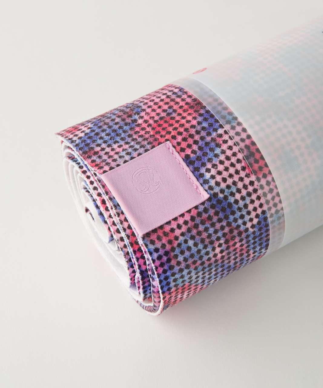 Lululemon The Towel - Checker Blooms Multi