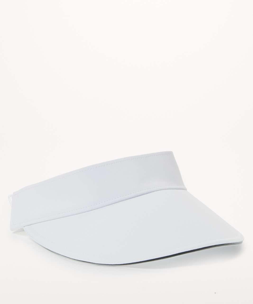 Lululemon Fast Paced Run Visor - White (Fifth Release)