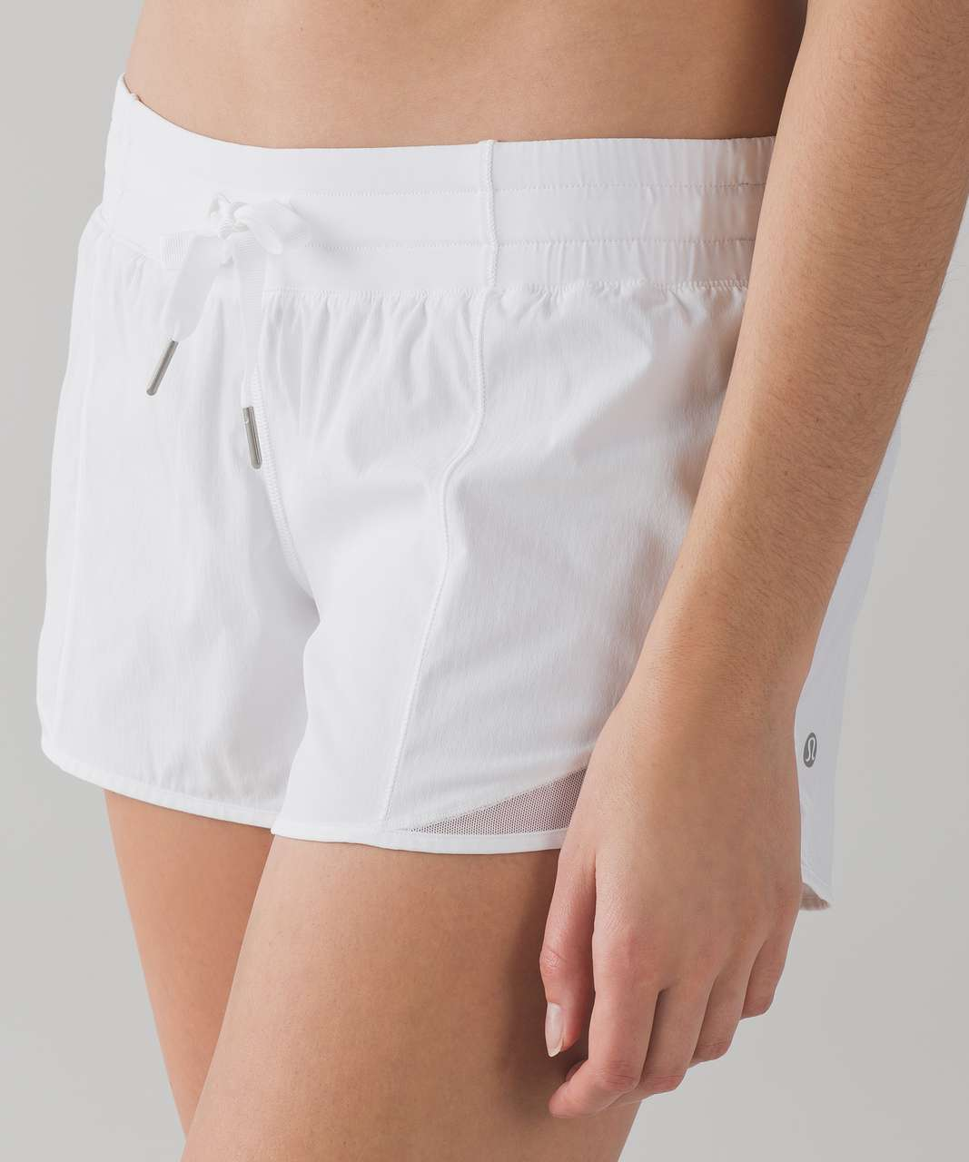 "Lululemon Hotty Hot Short (Long) 4"" - White"
