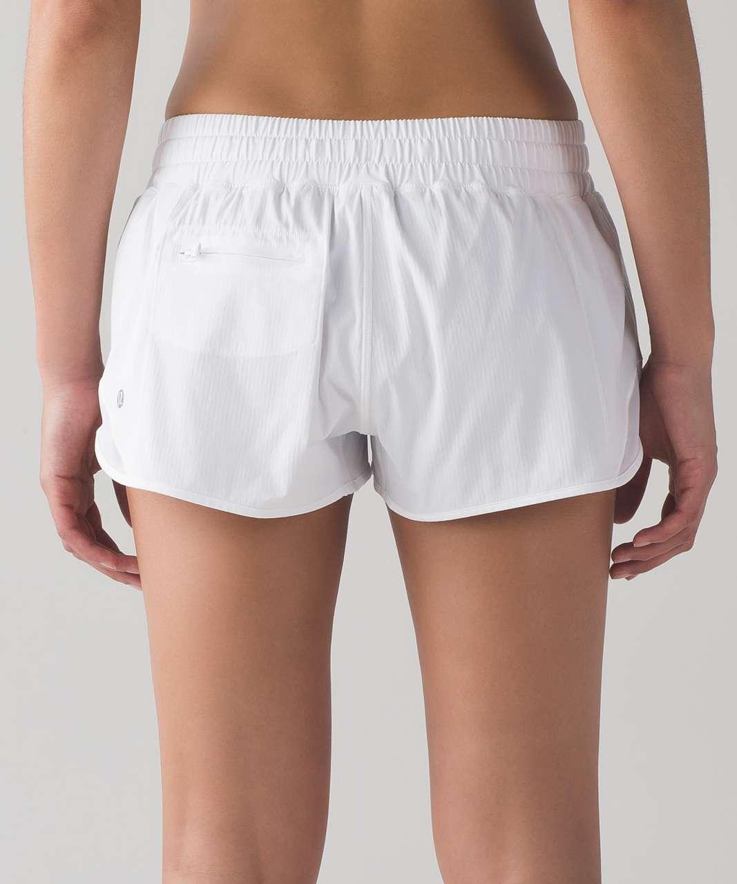 "Lululemon Hotty Hot Short 2.5"" - White"