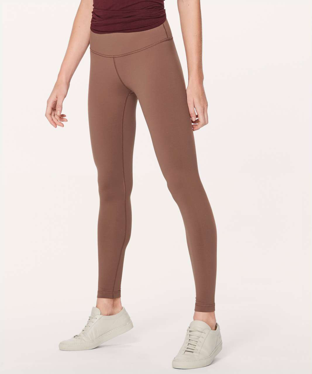 "Lululemon Wunder Under Hi-Rise Tight Full-On Luon 28"" - Henna"