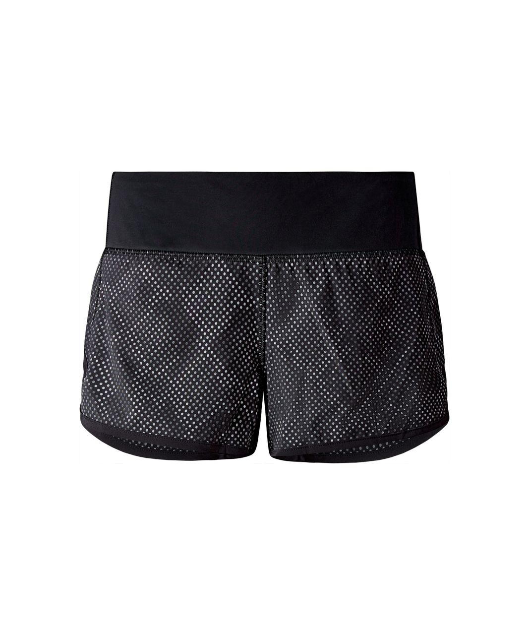 Lululemon Speed Short - Ravish Reptile Silver Black / Black