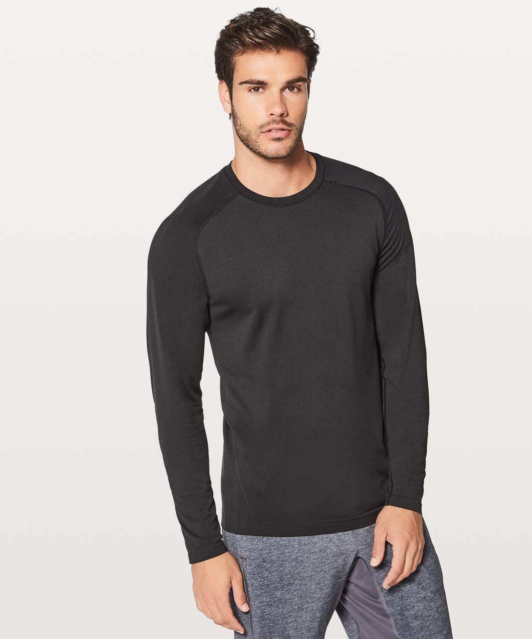 bbf7fd4ff Lululemon Metal Vent Tech Long Sleeve - Black   Black - lulu fanatics